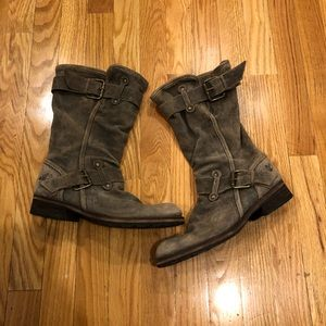 Shoes - Slouched Ankle Boots